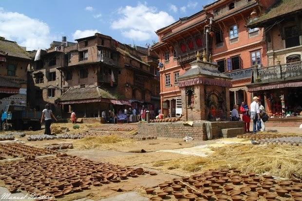 Bhaktapur, Potters Square