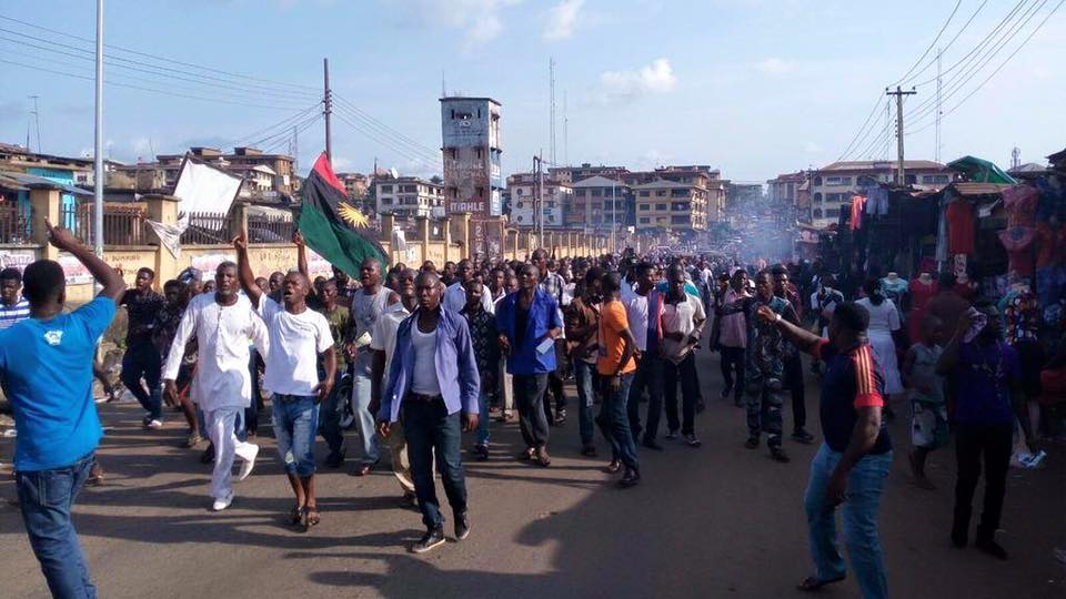 BIAFRA PROTEST UPDATE!!! IPOB AGITATORS LAUNCH SATELLITE – THE REASON WILL SURPRISE YOU (PHOTOS)