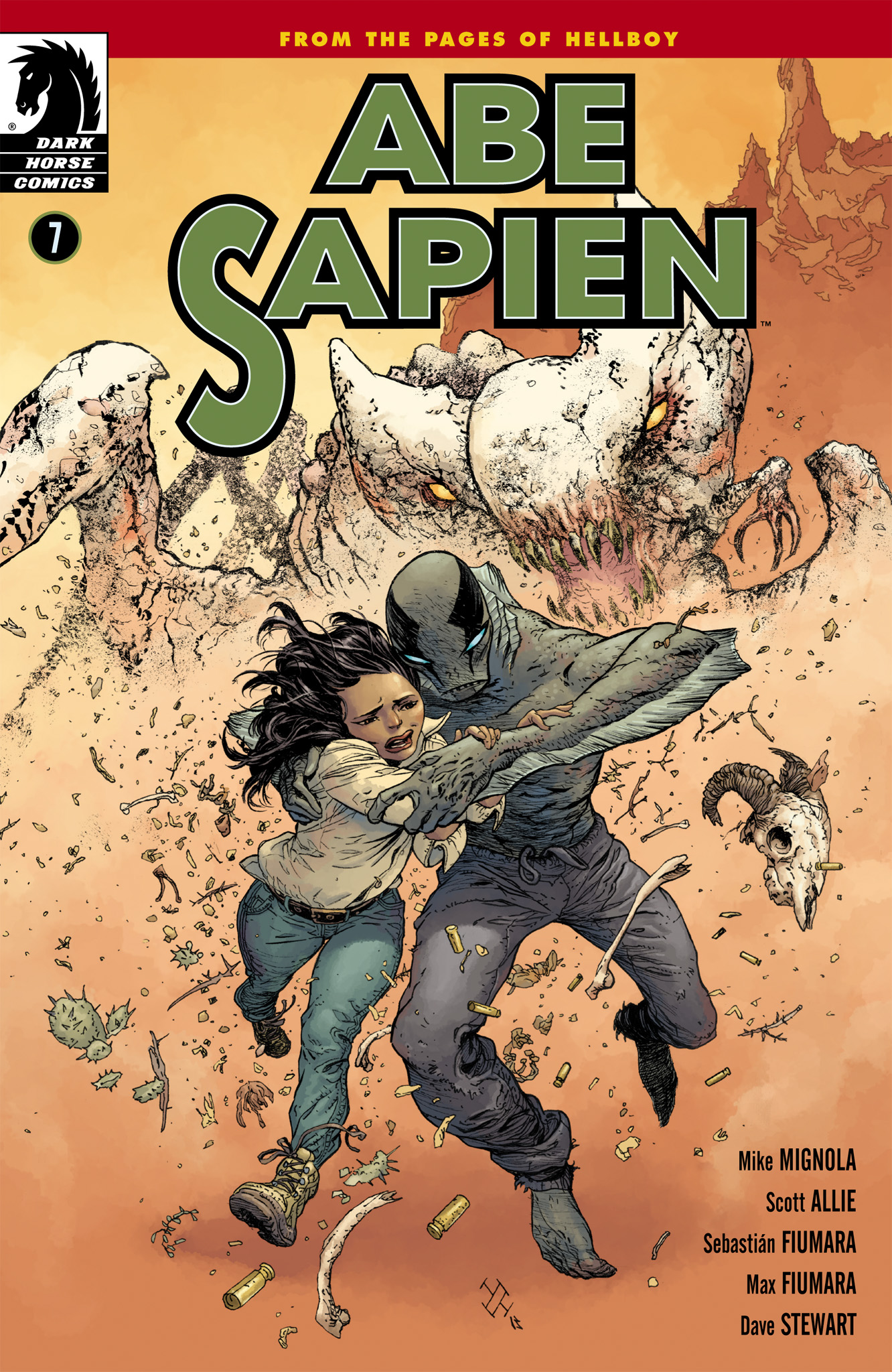 Read online Abe Sapien comic -  Issue #7 - 1