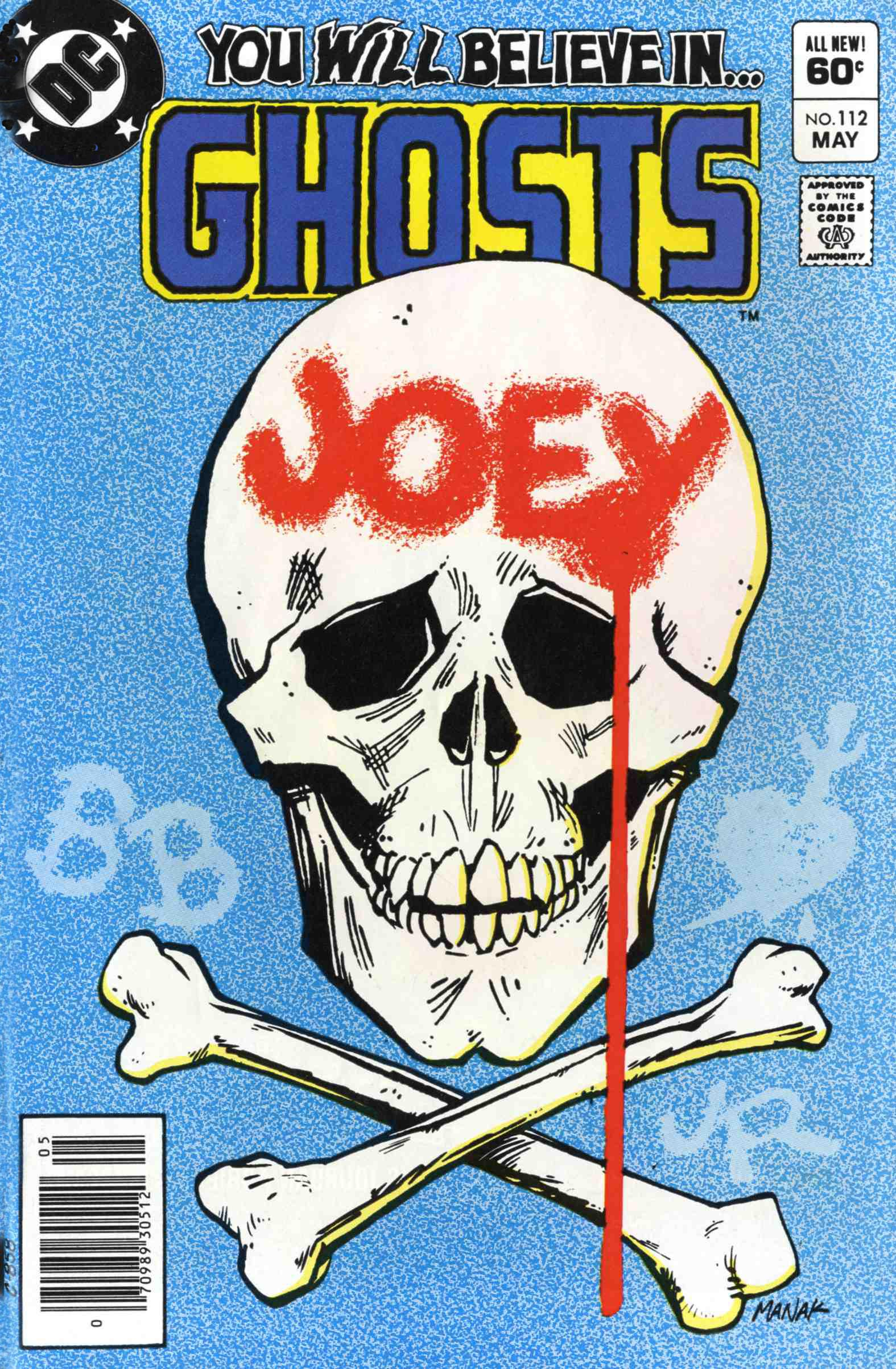 Read online Ghosts comic -  Issue #112 - 1