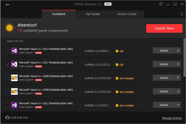 تفعيل برنامج Driver Booster V 5.2.0 لتحديث تعريفات الكمبيوتر آخر إصدار