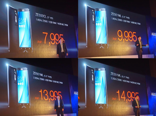 ASUS ZenFone 2 Launched in the Philippines, Starts at Php7,995