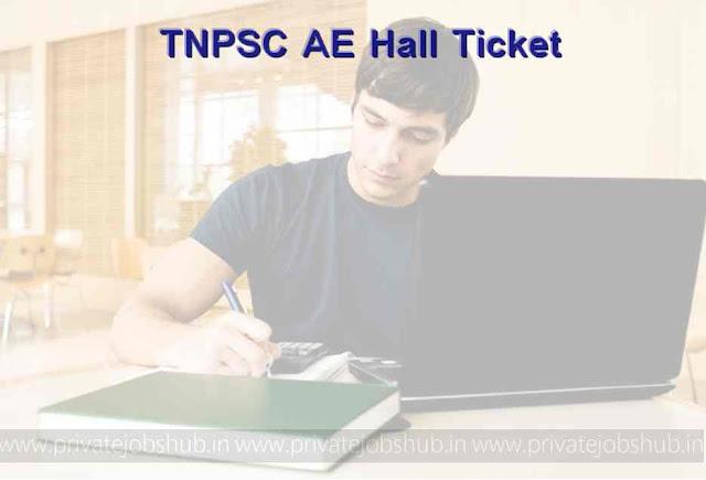 TNPSC AE Hall Ticket