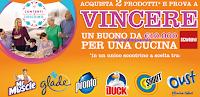Logo Vinci 10.000€ per una cucina Scavolini con il concorso ''Contenti insieme con SC Johnson''