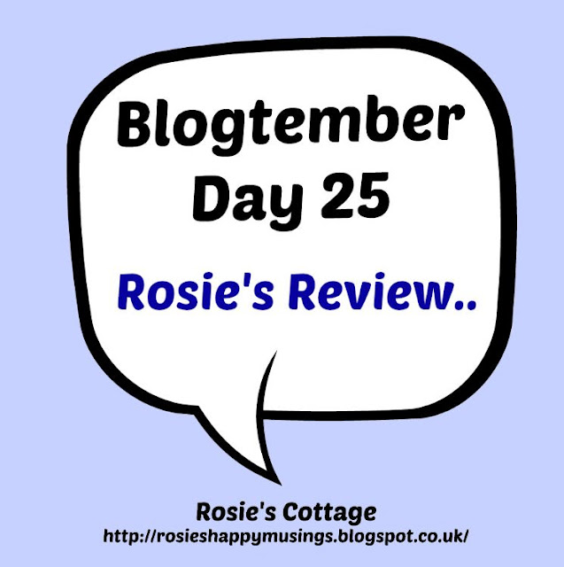 Blogtember Day 25 - A Product Review