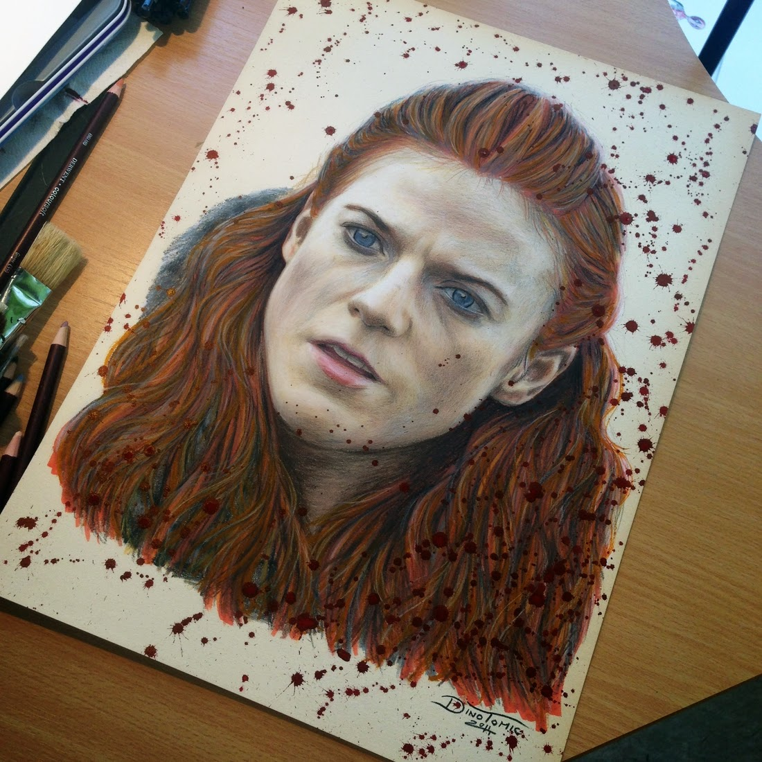 17-Ygritte-Dino-Tomic-AtomiccircuS-Mastering-Art-in-Eclectic-Drawings-www-designstack-co