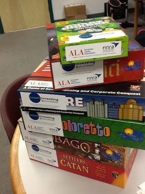 board game library at public library