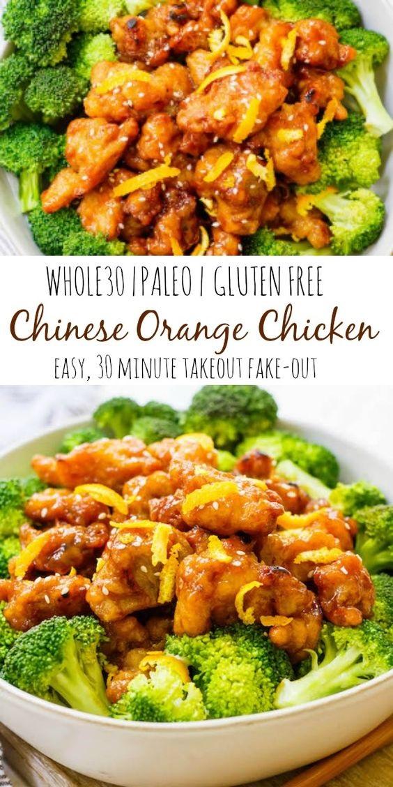 Easy Whole30 Chinese Orange Chicken