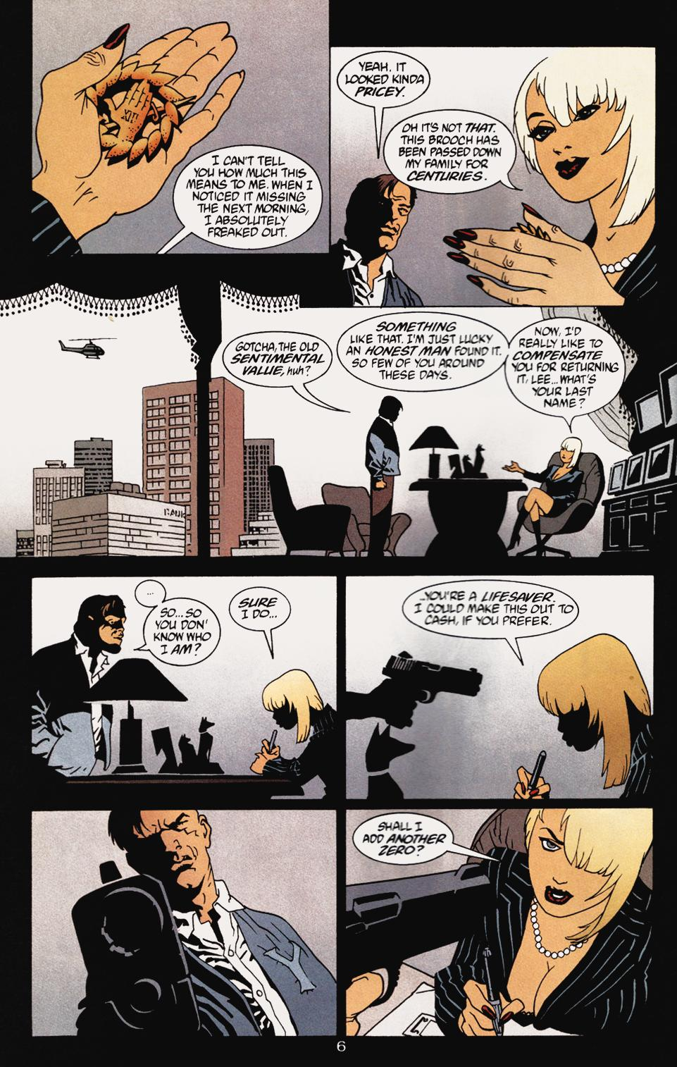 Read online 100 Bullets comic -  Issue #5 - 8