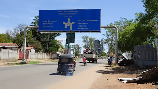 Not many sealed roads in South Sudan