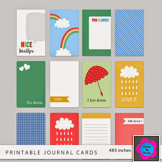 Free Printable Journal Cards – This Summer