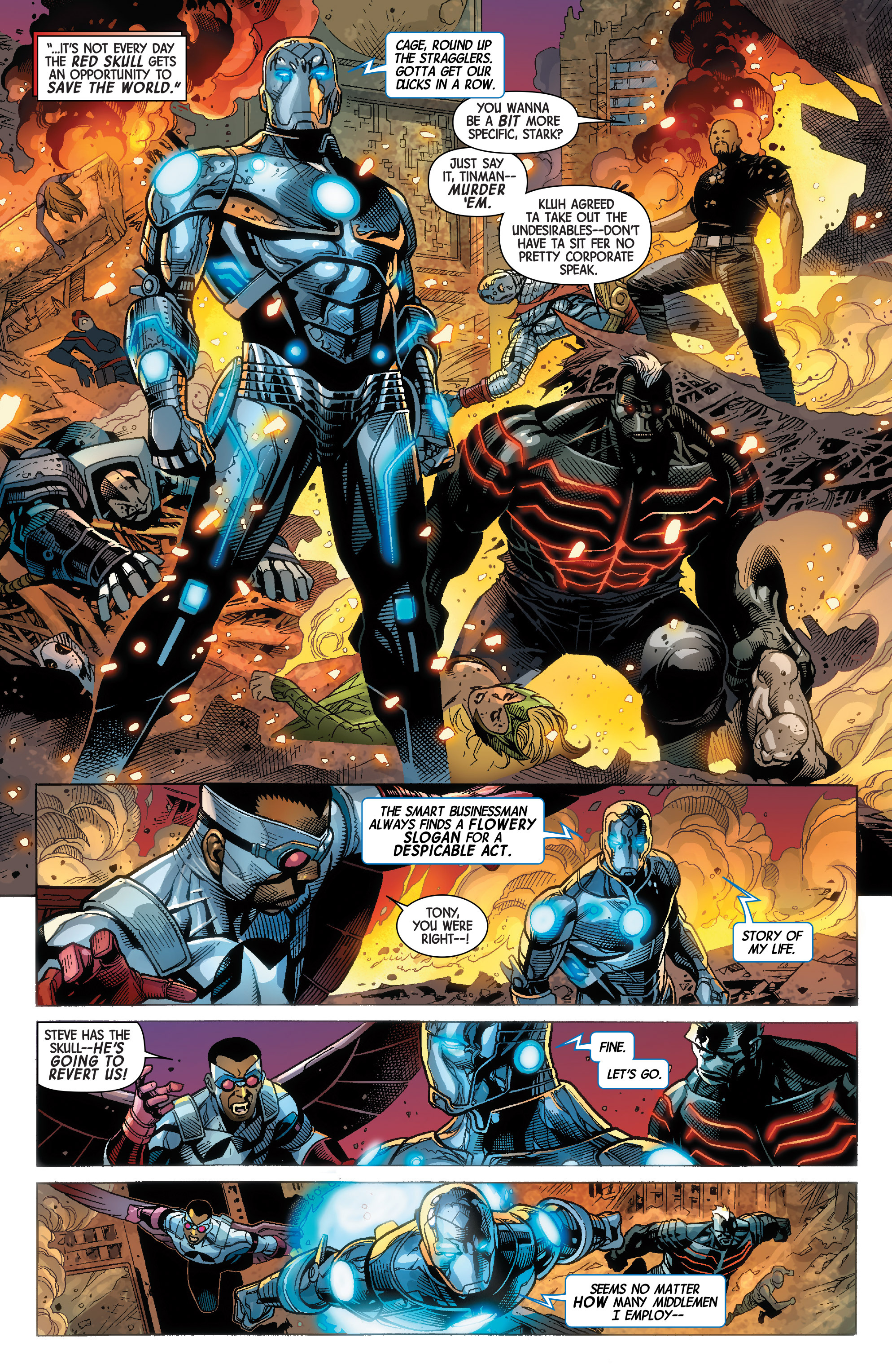 Read online Avengers & X-Men: AXIS comic -  Issue #9 - 9