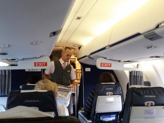 Lentäminen Minskiin / Belavia Airlines
