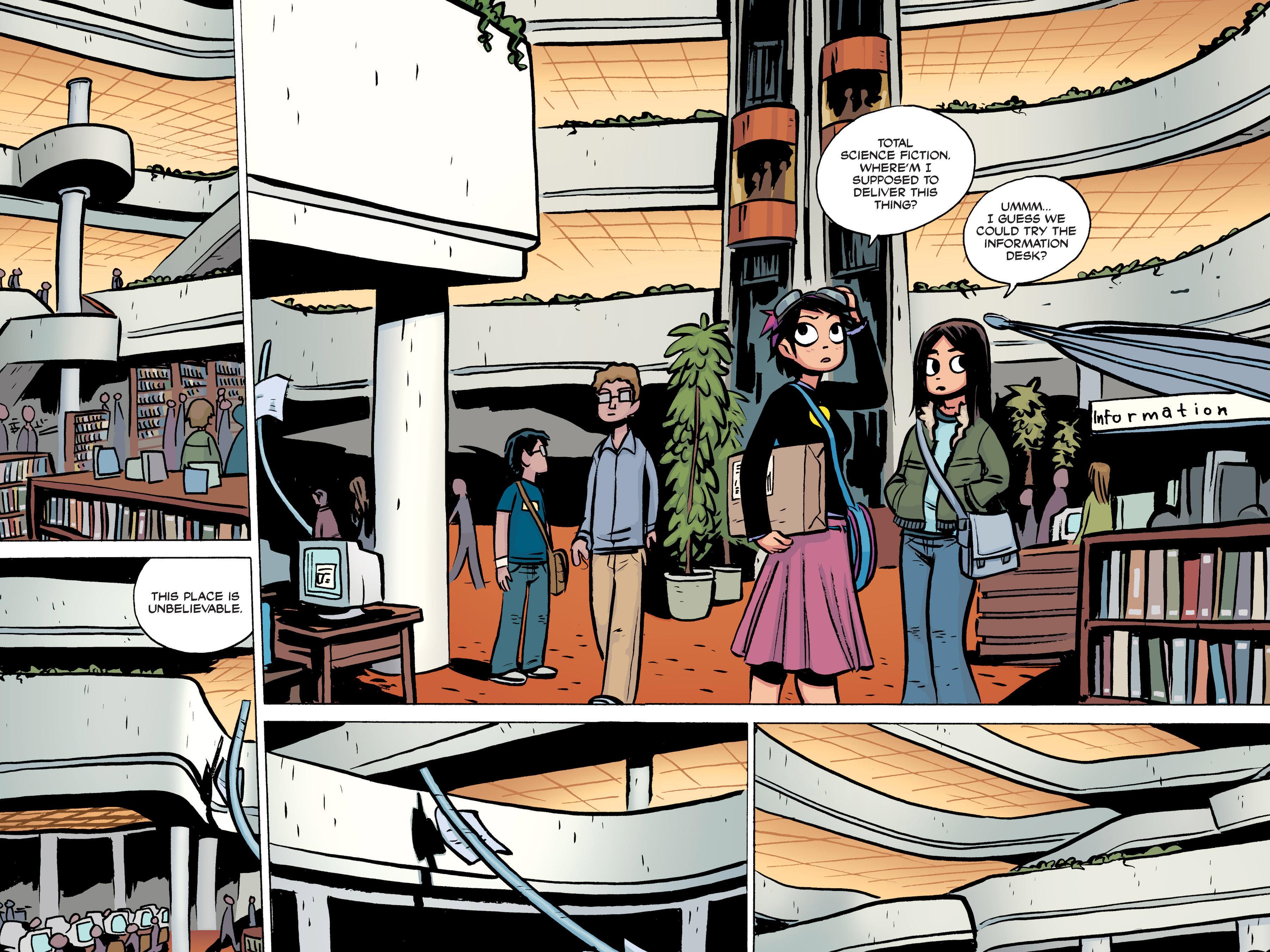 Read online Scott Pilgrim comic -  Issue #2 - 127