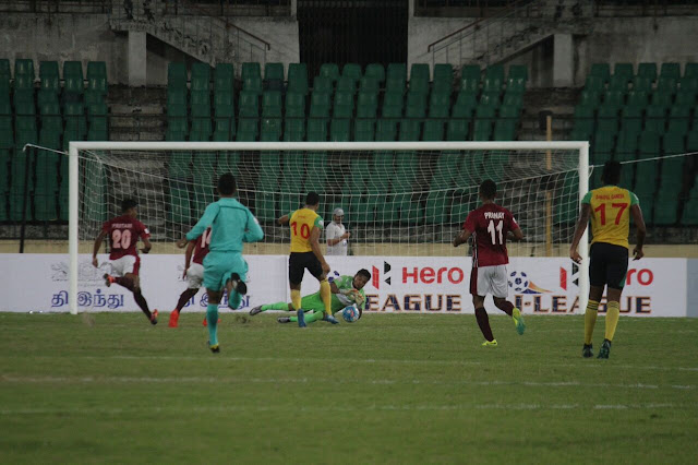Hero I-League: Mariners beat Chennai away from home