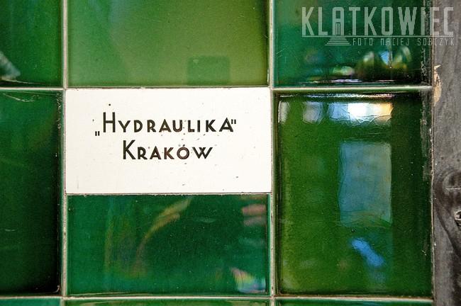 Kraków. Ceramiczna okładzina ścienna. Hydraulika Kraków.