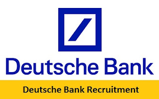 Deutsche Bank Recruitment 2017-2018
