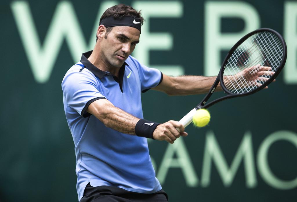 Roger Federer The Champ