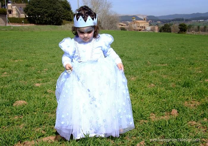 carnaval: disfraz de princesa