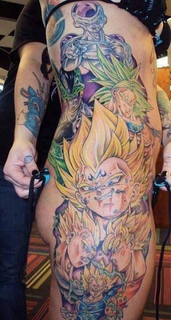 el mejor tatuaje de Dragon Ball