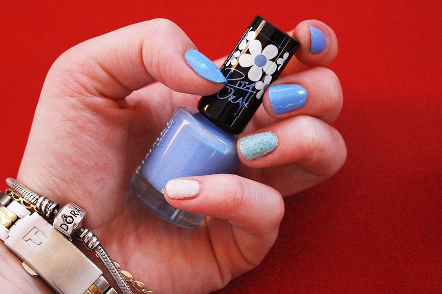 Rimmel Rita Ora - 860 Bestival Blue Wibo Granite Summer - nr 5 Wibo Granite Summer - nr 3