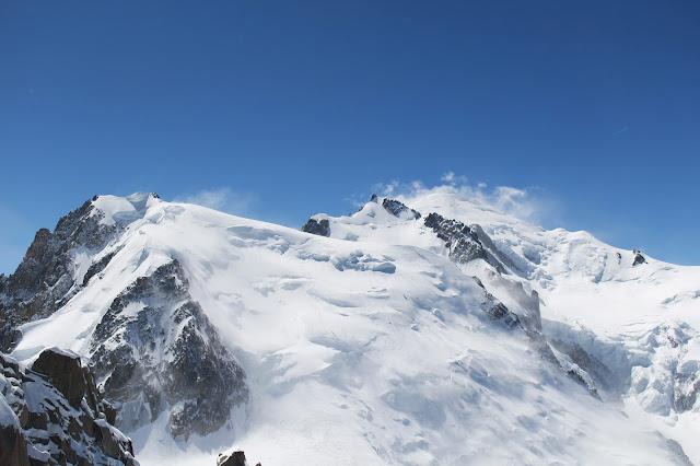 Les sommets depuis l'Aiguille du Midi - Chamonix