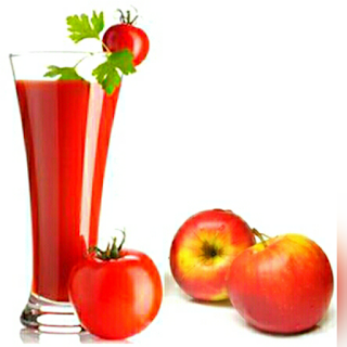 Cara Membuat Jus Tomat campur Apel