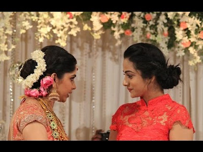 namitha-pramod-in-muktha-reception