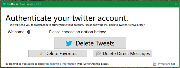 select-option-to-download-tweets-messeges-likes