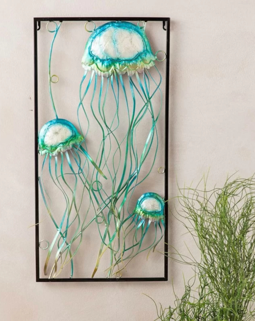Outdoor Coastal Wall Art Decor Metal Art Canvas Art More