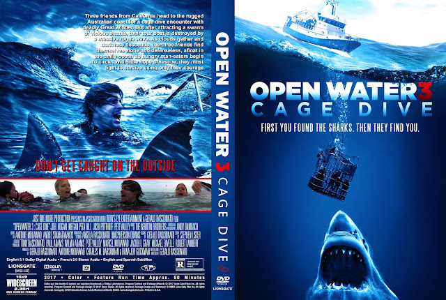 Open water 3 cage dive dvd cover cover addict dvd bluray covers and movie posters - Open water 3 cage dive ...