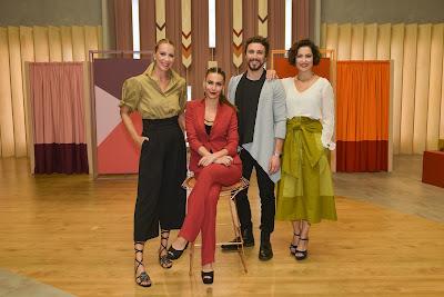 Da esquerda para direita: Bia Paes de Barros, Mel Fronckwiack, Yohan Nicolas e Débora Bitencourt (Crédito: Caue Moreno)