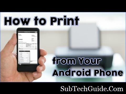 Android Phone Se Pdf Print Kaise Nikale Smart Phone Se Printout Kaise Le ?