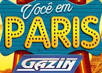 Promoção 'Você em Paris com a Gazin' voceemparis.com.br
