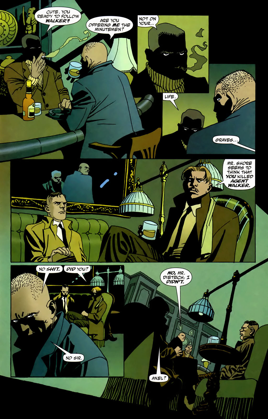 Read online 100 Bullets comic -  Issue #69 - 12