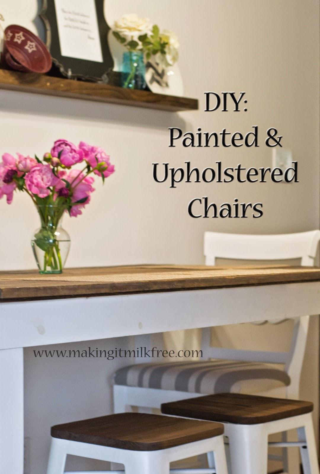 Diy Painted Windsor Chairs Desk Swivel Chair Making It Milk Free 43 Upholstered