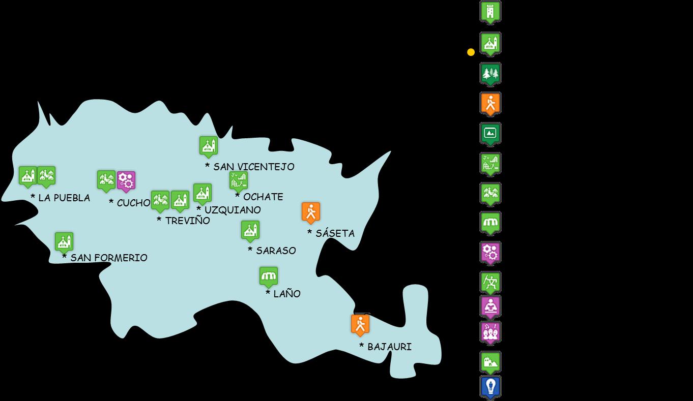 Condado De Treviño Mapa.Tierras De Burgos Condado De Trevino