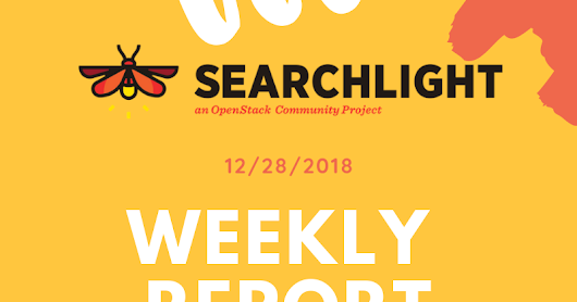 Searchlight weekly report - Stein R-16 & R-15