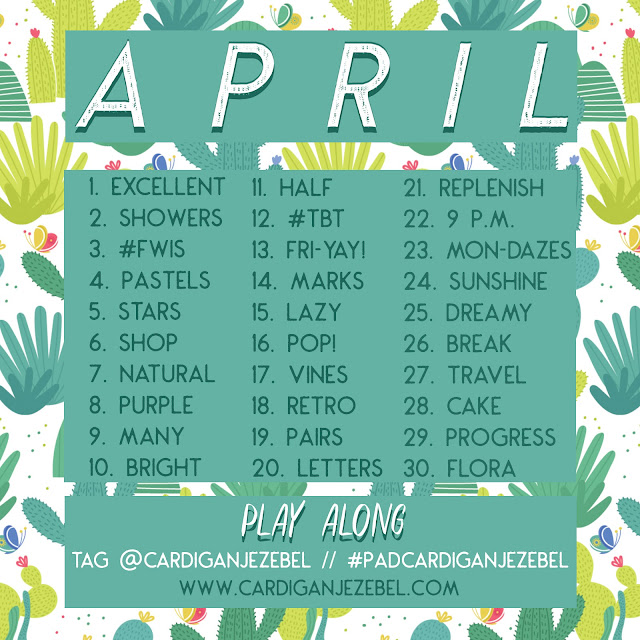 April 2018 Photo A Day Challenge