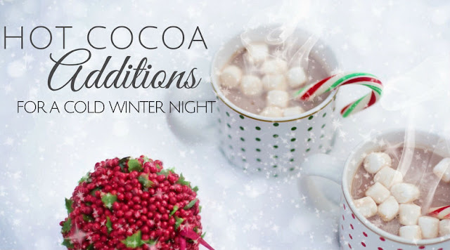 Hot Cocoa Additions for a Cold Winter Night