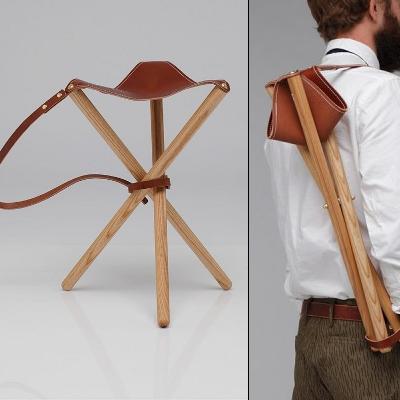 Admirable Frosty Mint Wood Faulk Camp Stool Ibusinesslaw Wood Chair Design Ideas Ibusinesslaworg