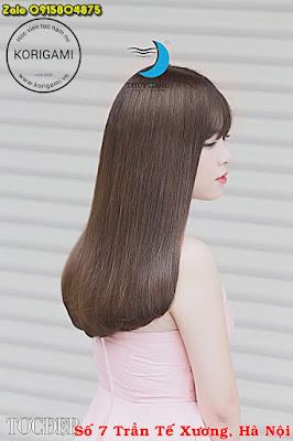tóc lá, tóc dài, ép, cúp, tóc nữ, nữ, girl á