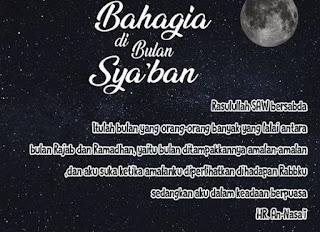 Keistimewaan Bulan Sya'ban dan Bulan Ramadhan