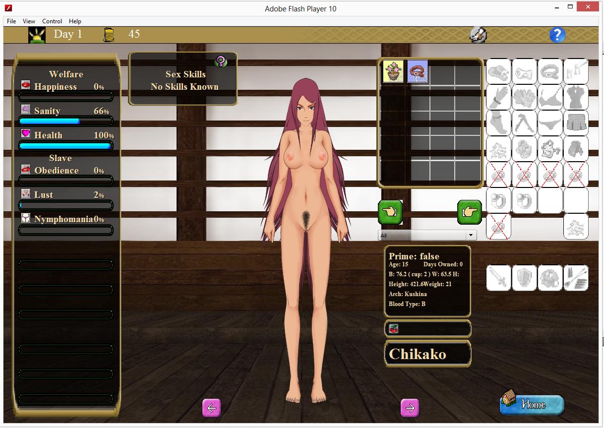 Kushina Hentai Game