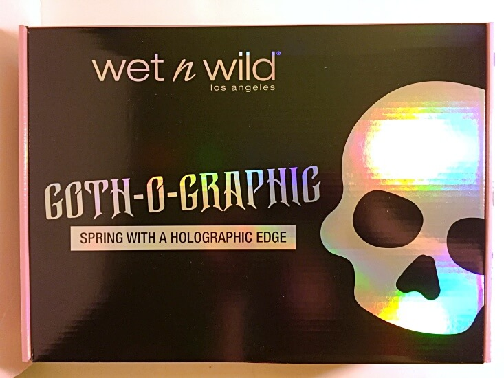 wet n wild Limited Edition Goth-o-Graphic box