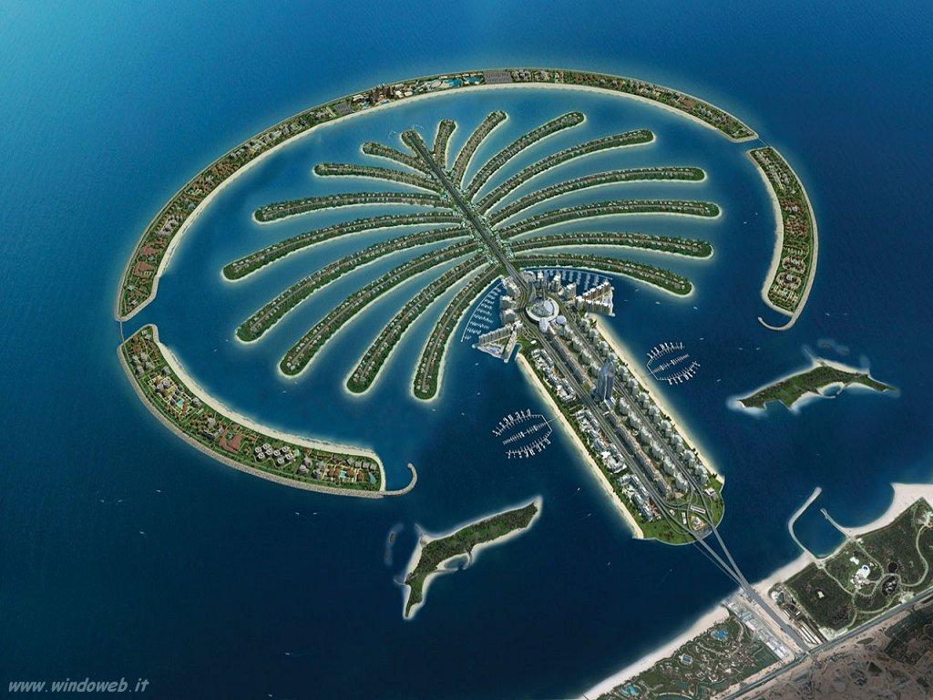 Seven Wonders Of The World: Palm Island Dubai