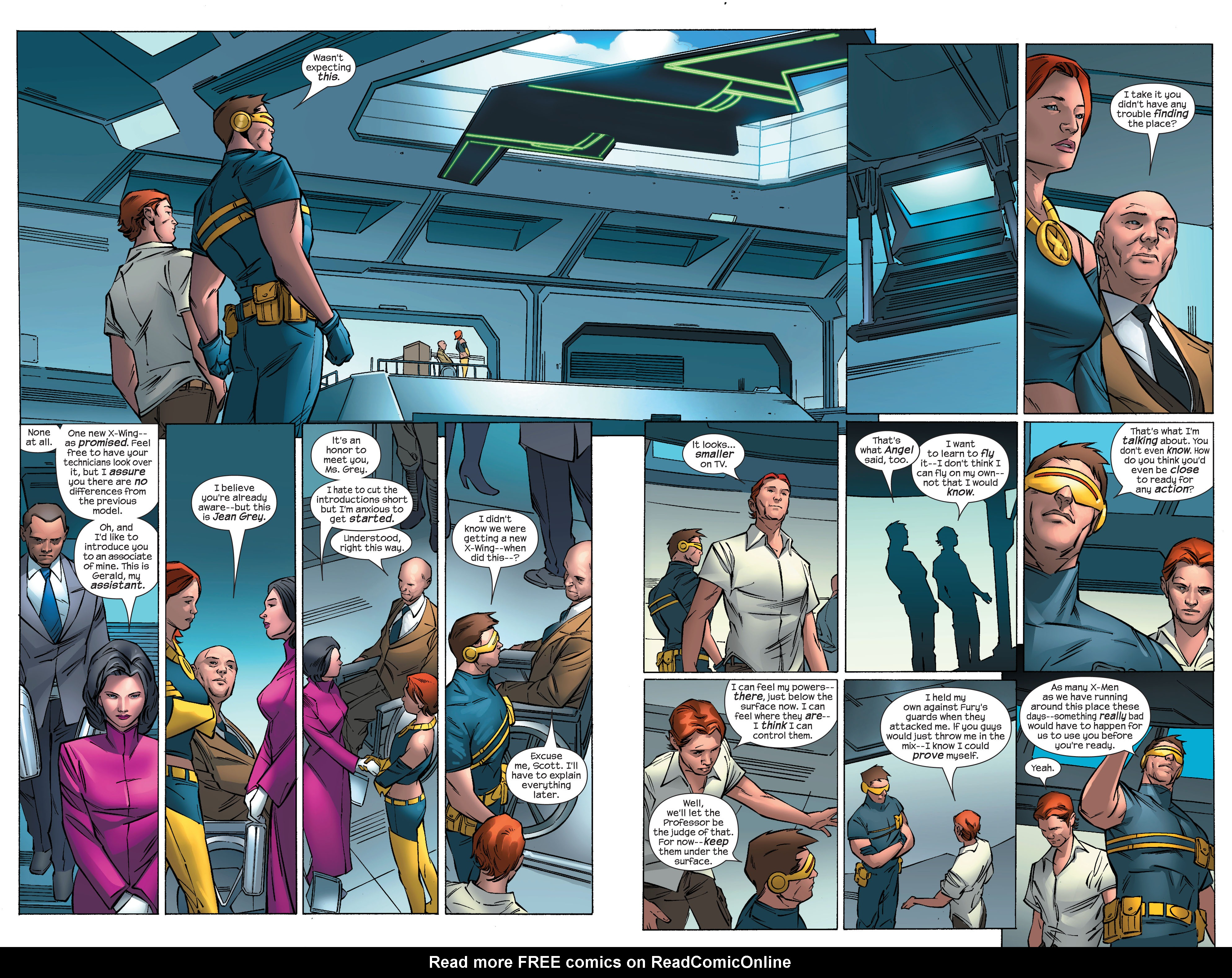 Read online Ultimate X-Men comic -  Issue #69 - 17