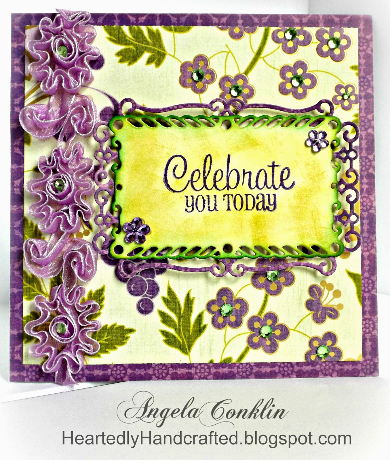 Handmade Greeting Card: Celebrate You Today