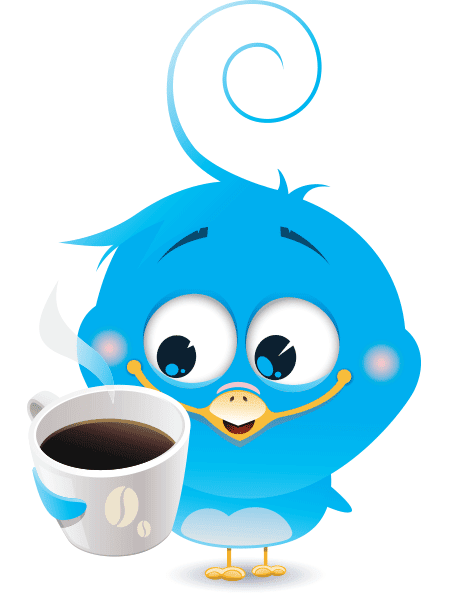 Coffee Bird Icon