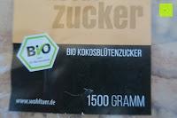 Aufkleber: Wohltuer Bio Kokosblütenzucker 2kg